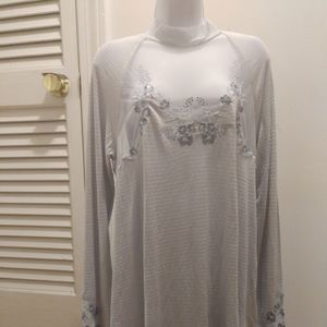 Free People blue dress or tunic... NWT